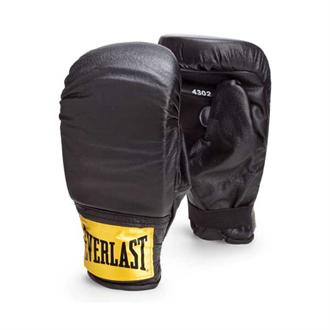 Everlast Leather Training Bag Gloves